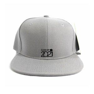 Class of 2021 Hat Cap One Size Adjustable Snapback
